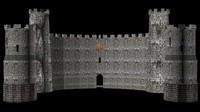 castle 3d model