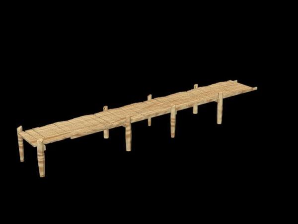 3d model bridger