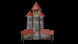 tower 3d 3ds