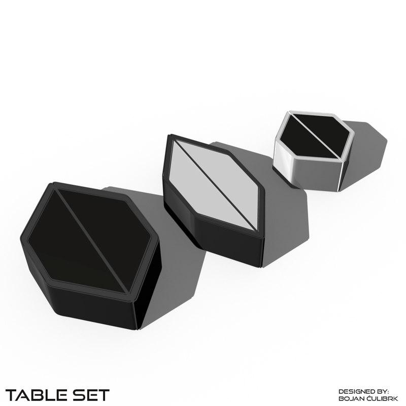 table set obj