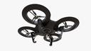 quadcopter drone obj