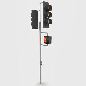 3d traffic signal