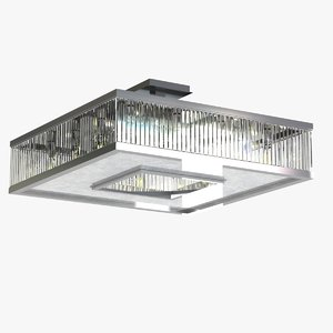 3d model lamp light hollywood square