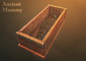tomb mummy 3d model