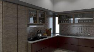 3ds kitchen set