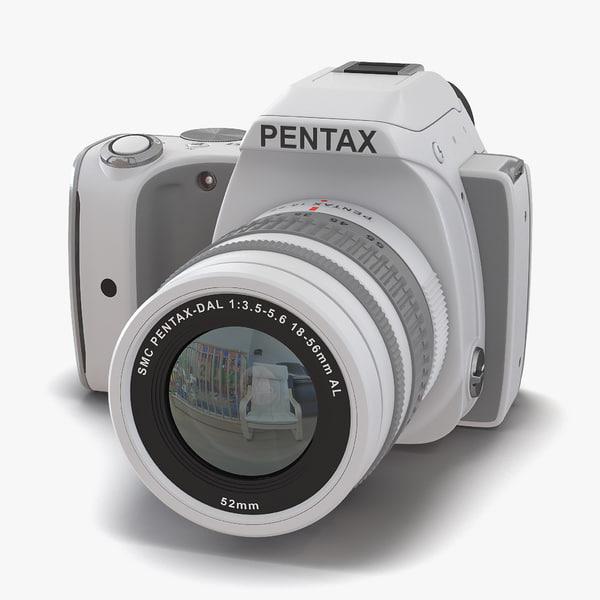 3d pentax k-s1 white