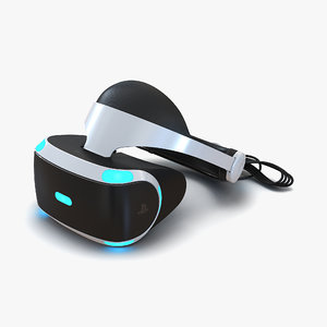 3d sony playstation vr
