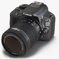 3d canon eos 100d model