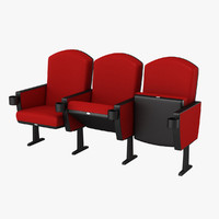 chairs realistic 3d model