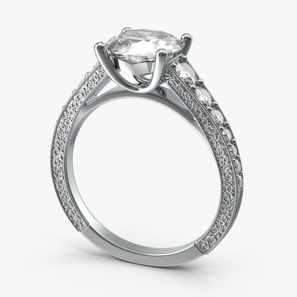 3d model engagement ring