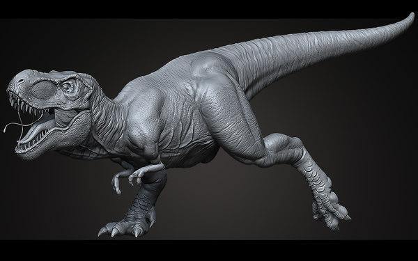 3d model sculpt tyrannosaurus rex ztool