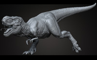 High Poly T-Rex Ztool