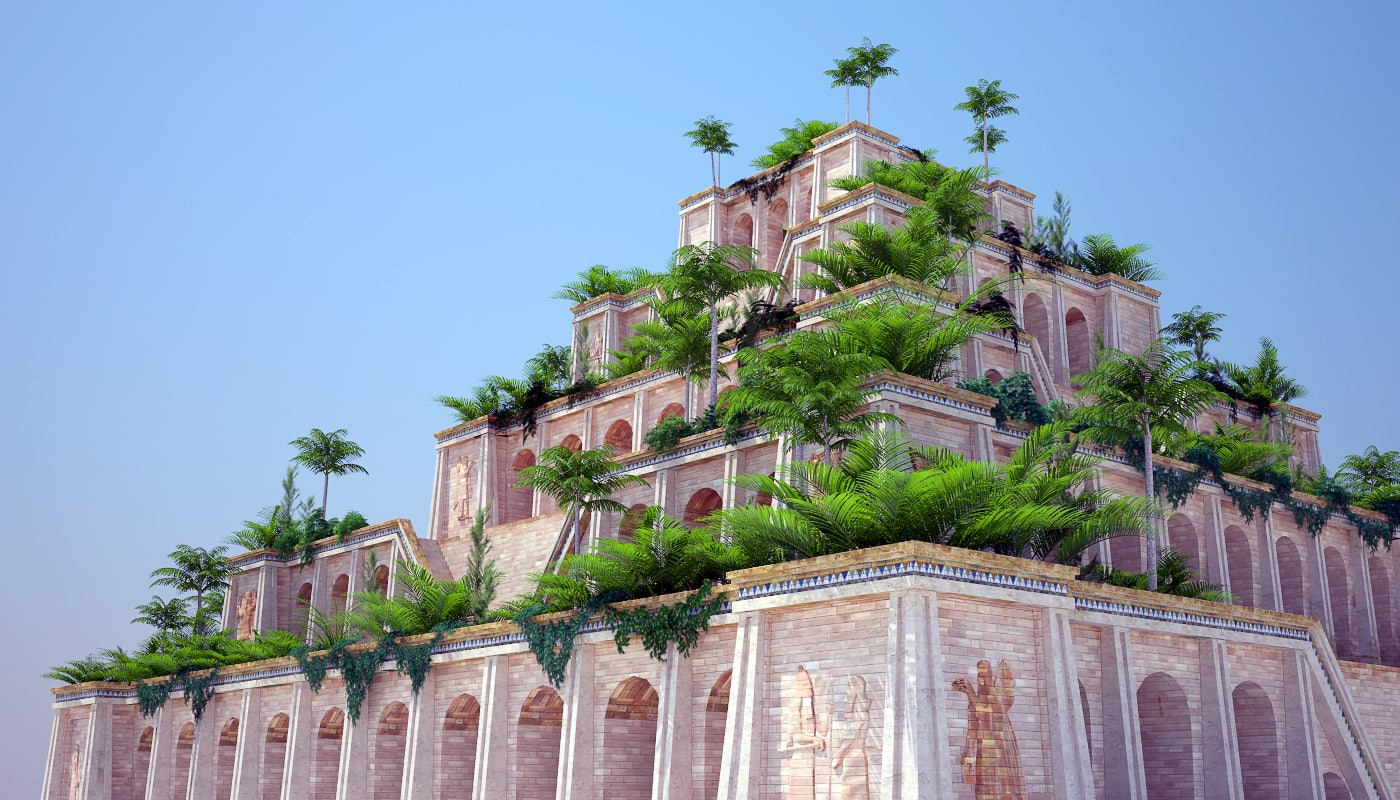 Hanging gardens of babylon pics garden ftempo for When was the hanging gardens of babylon destroyed