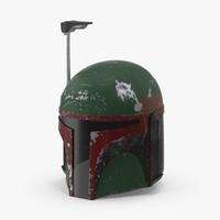 3d max boba fett helmet