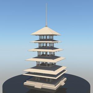 obj pagoda
