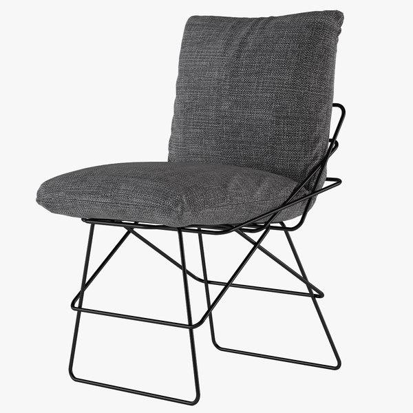 3d model chair sof driade