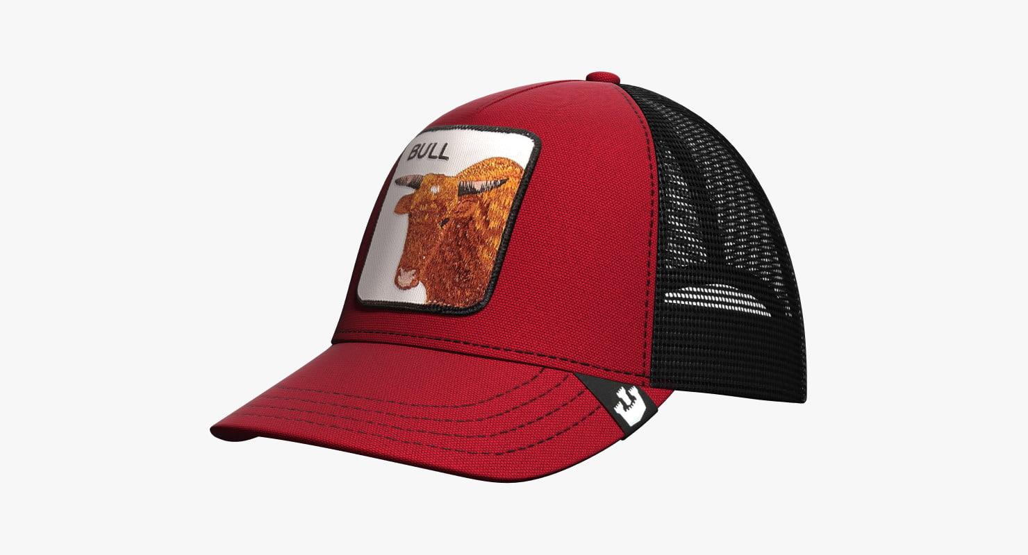 7ce43e36b7216 hat goorin brothers animal 3d model