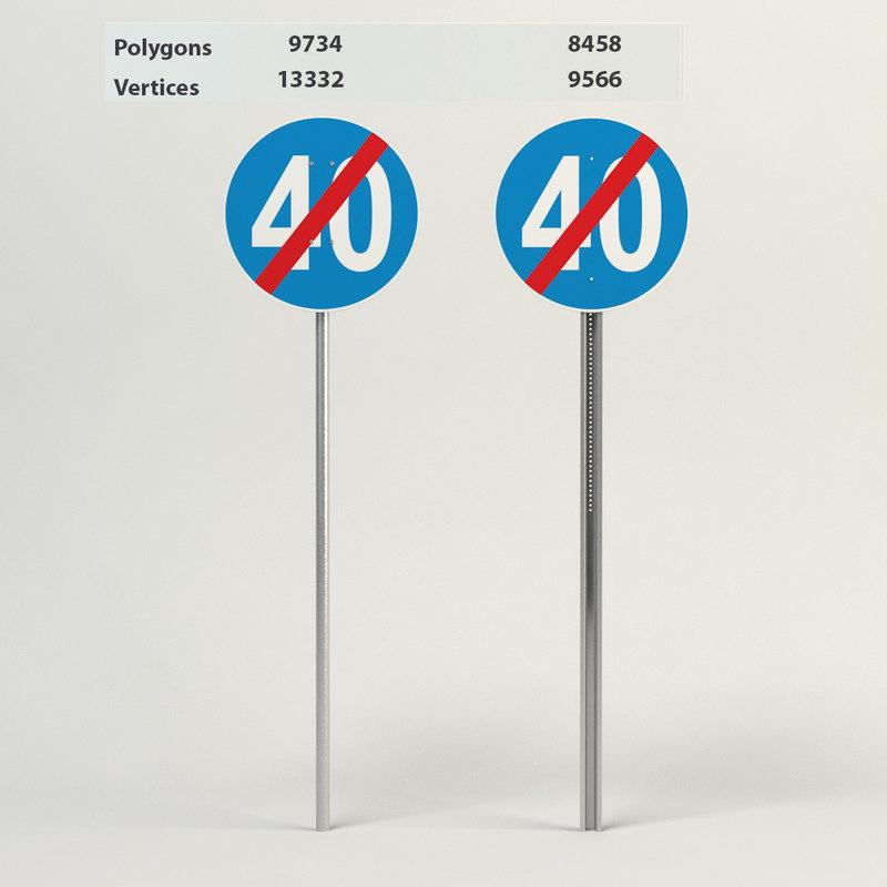 3d end minimum speed