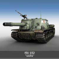 ISU-152 - Soviet heavy self-propelled gun