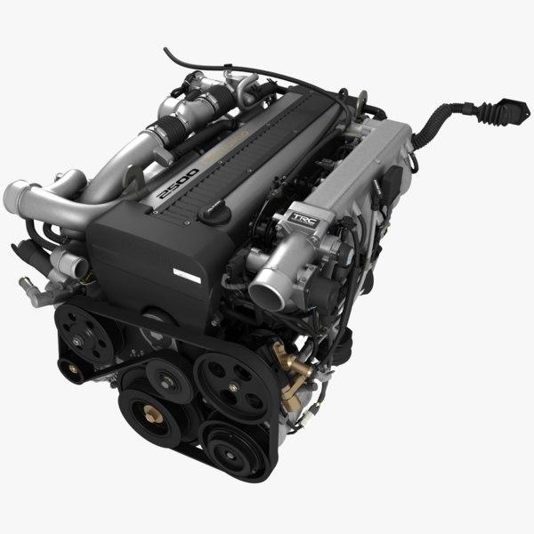 1jz-gte engine 3d max