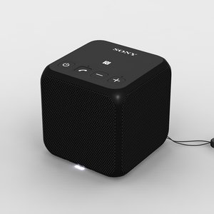 3d max sony srs-x11 black bluetooth