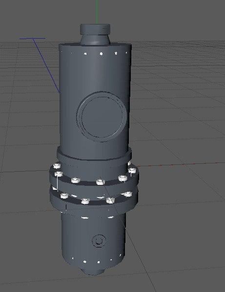 pressure controller 3d 3ds