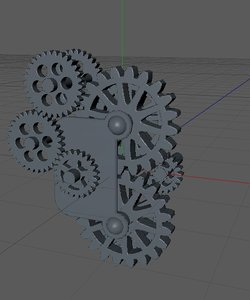 3ds gear box