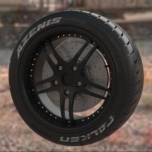wheel falken azenis 3ds