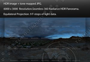 DRAMATIC SKY FROM A MOUNTAIN TOP, 360 PANORAMA #533