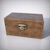 Casket for Games & Renders