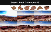 desert packed 3d max