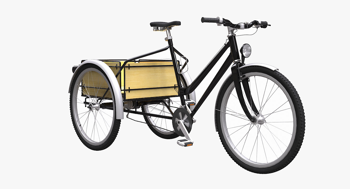 trike cargo bicycle max