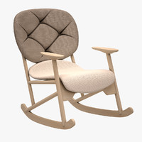 3d model klara armchair chair