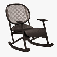 3d klara armchair chair model