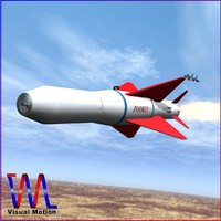 3d agm-379 missile zoobin model