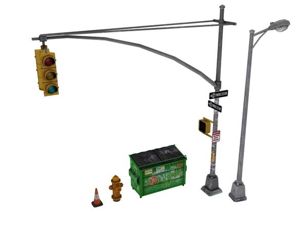 street props polys max
