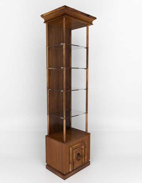 max faux-bamboo etagere drexel heritage