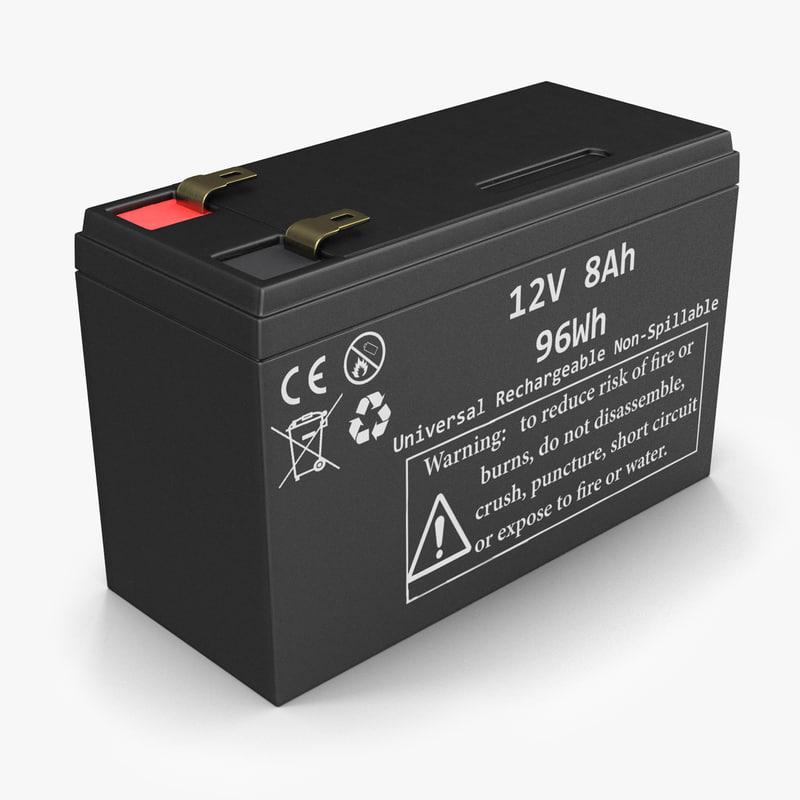 12 volt battery 3ds
