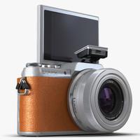 panasonic dmc gf7 rigged 3d model