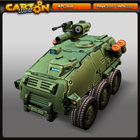 cartoon apc 6x6 max
