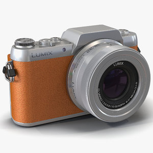 panasonic dmc gf7 brown c4d