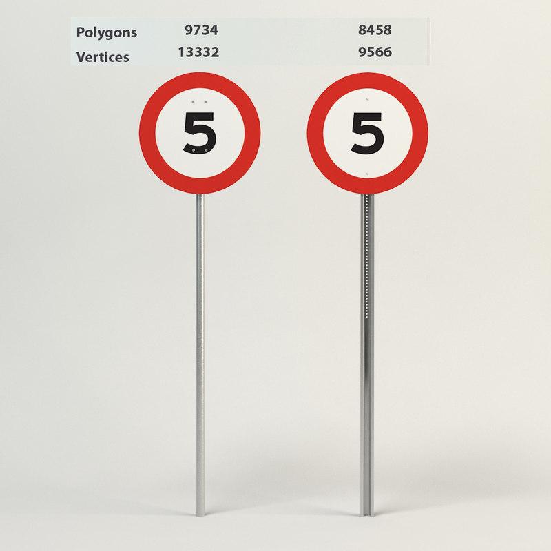 speed limit-5 3d 3ds