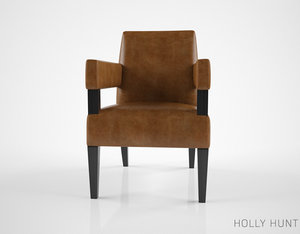 3d holly hunt hutton occasional