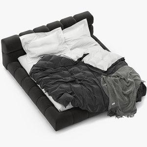 3d tufty bed b model