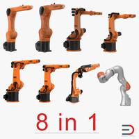 kuka robots 3 3d 3ds