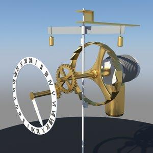 mechanical verge foliot obj