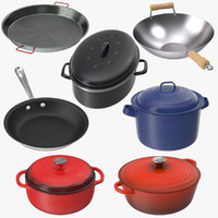Skillets and Pans Collection