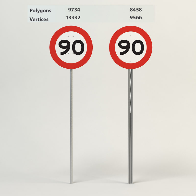 speed limit-90 max
