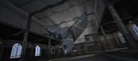 3d model choky space hangar