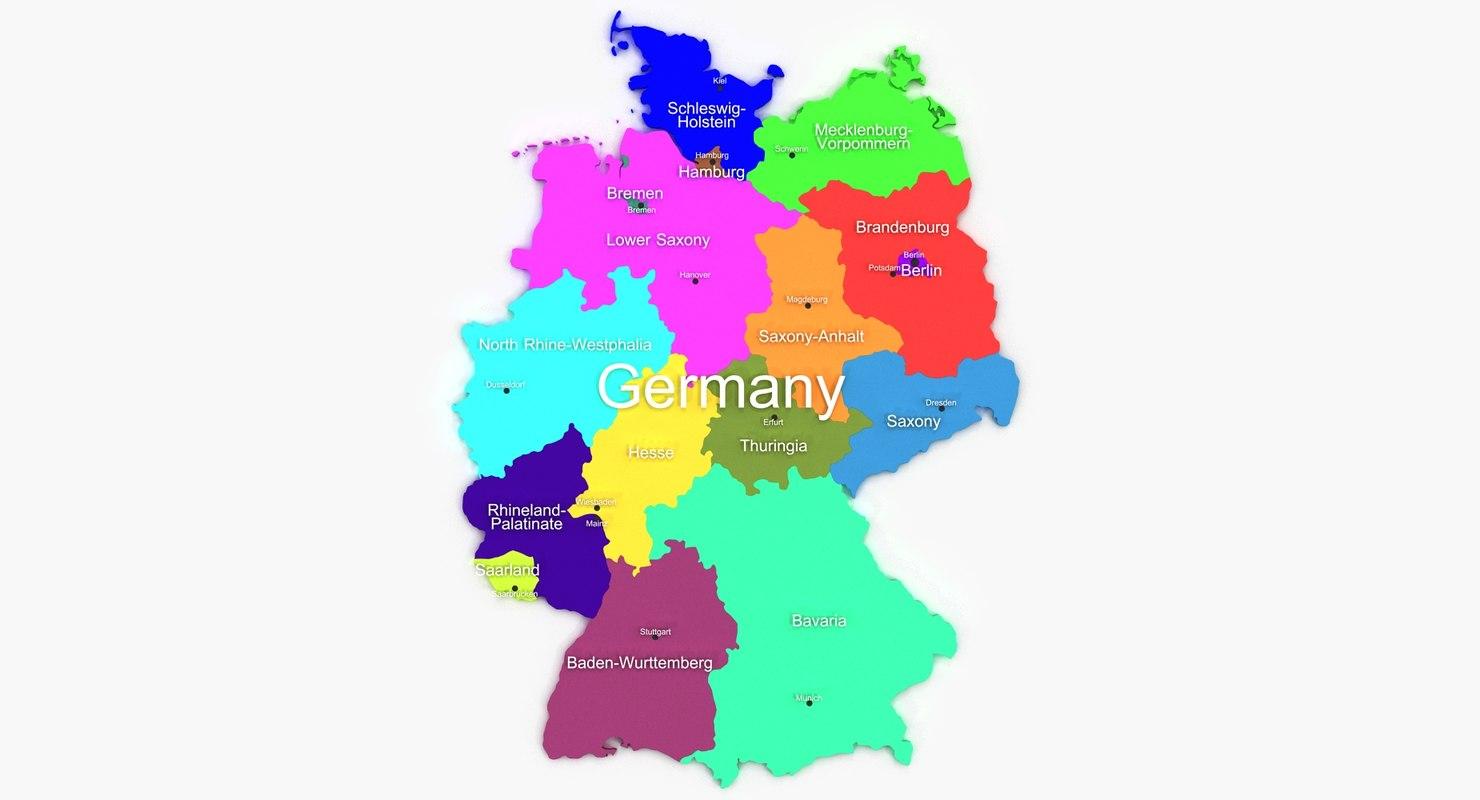 germany 3d model